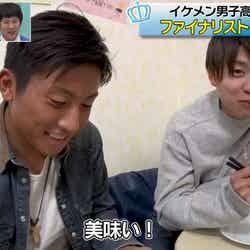 関東グランプリ・高橋文哉の兄/左が長男、右が次男(C)AbemaTV