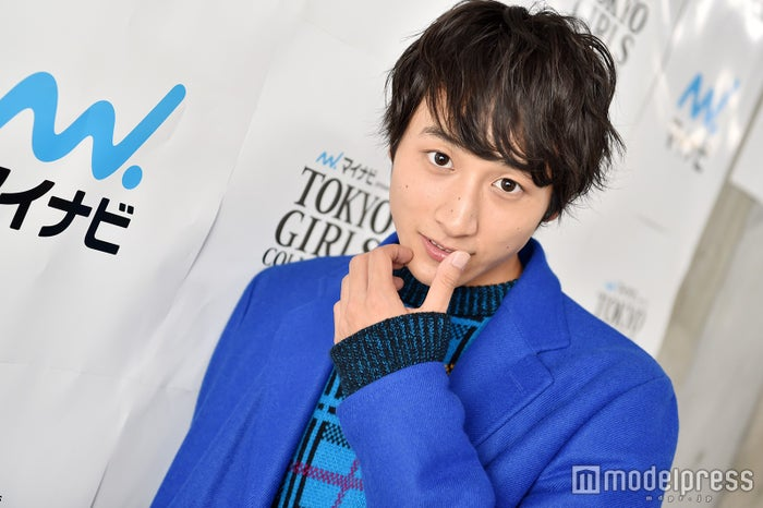 「TGC」初出演後、モデルプレスの取材に応じた小関裕太(C)モデルプレス