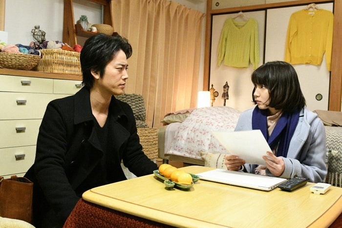 桐谷健太、吉岡里帆/「きみが心に棲みついた」第7話より(C)TBS
