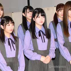 (下段左から)与田祐希、久保史緒里、梅澤美波(上段左から)守屋茜、柿崎芽実、加藤史帆 (C)モデルプレス