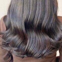 ブリーチなしでこの透明感?!髪に優しいカラーをONしよう