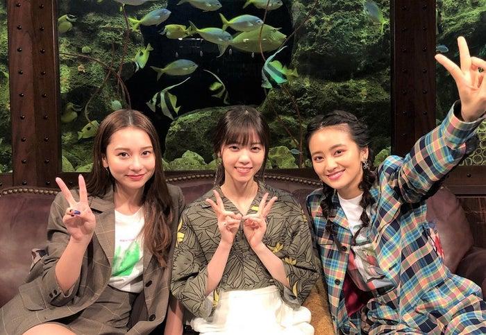 Niki、西野七瀬、岡田結実(C)カンテレ