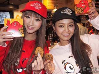 日本酒ギャル&人気モデルがキュートな姿に変身 日本初上陸を祝福