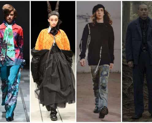 楽天ファッション・ウィーク東京21年秋冬 想像をかき立てるストーリー仕立て