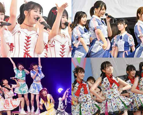 <TIF2019・2日目>NGT48、急遽出演で活動再開 日向坂46・STU48・まねきケチャらアイドル豪華集結【写真特集/500枚超】
