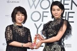 松本穂香、受賞の瞬間 (C)モデルプレス