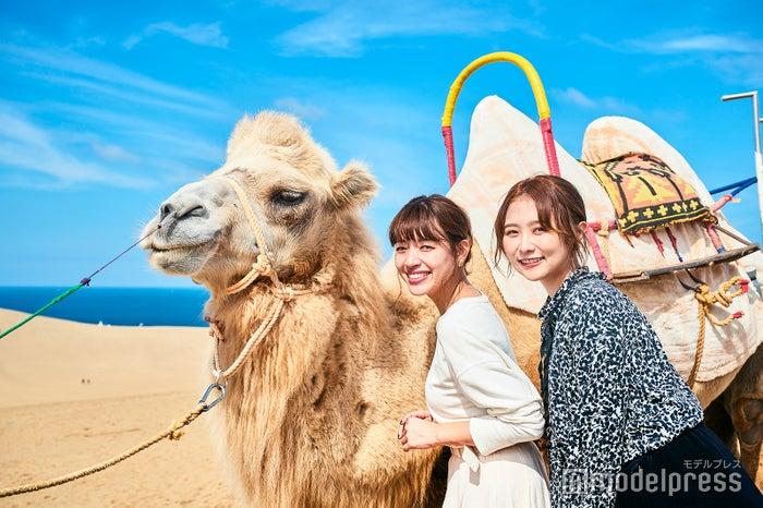 鳥取女子旅スポット7選/モデル:前坂美結、まつきりな(C)モデルプレス