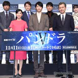 (下段左から)黒木瞳、向井理、渡部篤郎(上段左から)三浦貴大、山本耕史、原田泰造、美村里江 (C)モデルプレス