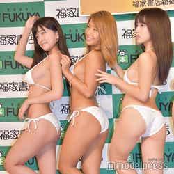 (左から)☆HOSHINO、橋本梨菜、犬童美乃梨(C)モデルプレス