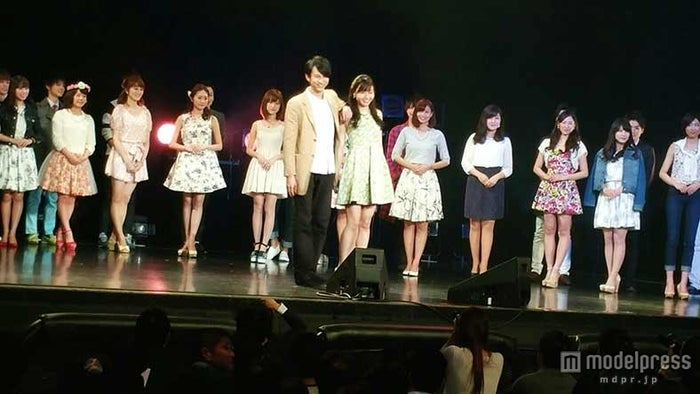「Mr of Mr CAMPUS CONTEST 2015」イベント、オープニングの様子