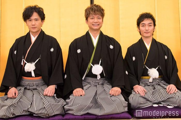 稲垣吾郎、香取慎吾、草なぎ剛(C)モデルプレス