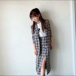 AAA宇野実彩子、美脚ちらりの衣装紹介写真に絶賛と気遣いの声「美脚!」「ちょっと痩せましたか?」
