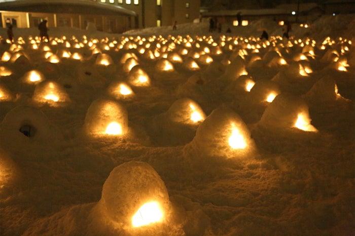 横手の雪まつり(提供写真)
