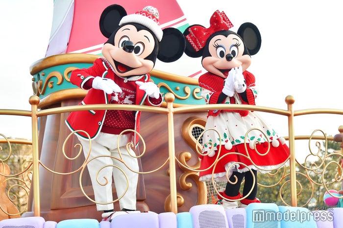 ミッキーマウス、ミニーマウス/「ディズニー・クリスマス・ストーリーズ」/東京ディズニーランド(C)モデルプレス(C)Disney