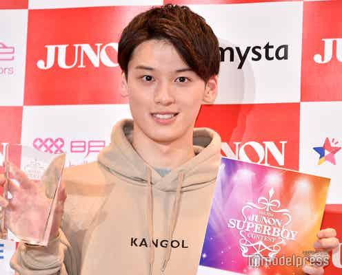第31回ジュノンボーイグランプリ松本大輝さん、藤田ニコルも「一番にした」魅力とは 地元・北海道へ「持って帰れることが嬉しい」