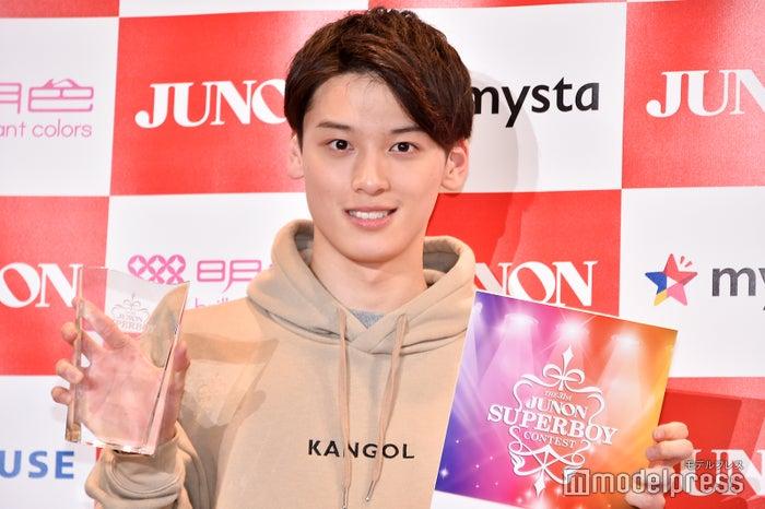 「第31回 ジュノン・スーパーボーイ・コンテスト」グランプリの松本大輝 (C)モデルプレス
