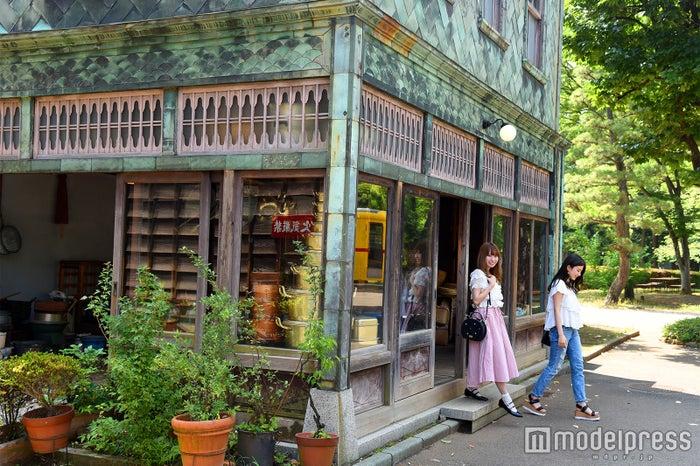 タイムスリップしたような街並み 江戸東京たてもの園(C)モデルプレス