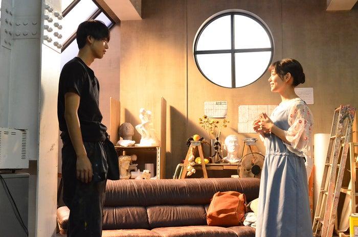竹内涼真、高畑充希/「過保護のカホコ」第6話より(画像提供:日本テレビ)