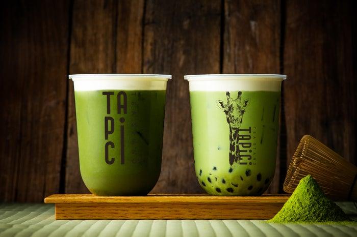 タピチ‐宇治抹茶ミルク/画像提供:ドロキア・オラシイタ