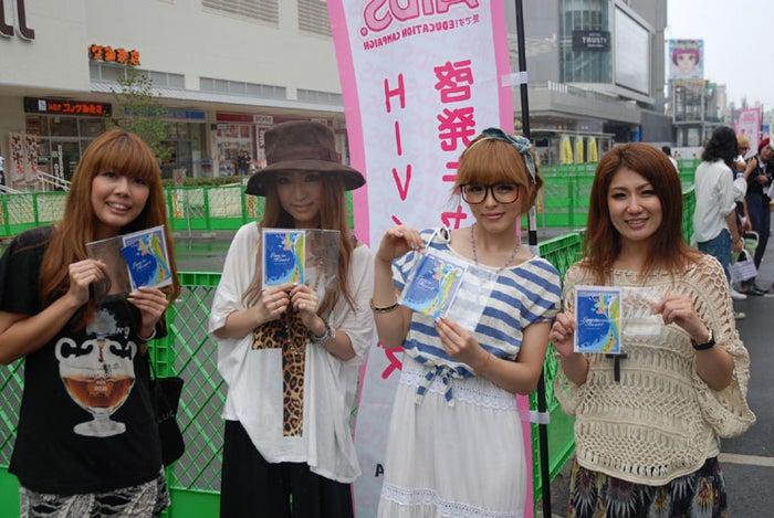 中央:杉山佳那恵、板橋瑠美