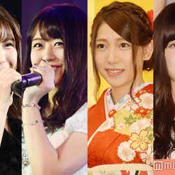 モデルプレス - AKB48、美しい胸元ランキング発表 グラビア四天王が本領発揮