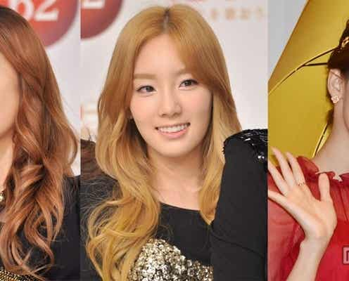 少女時代の3名が「世界で最も美しい顔100人」にランクイン