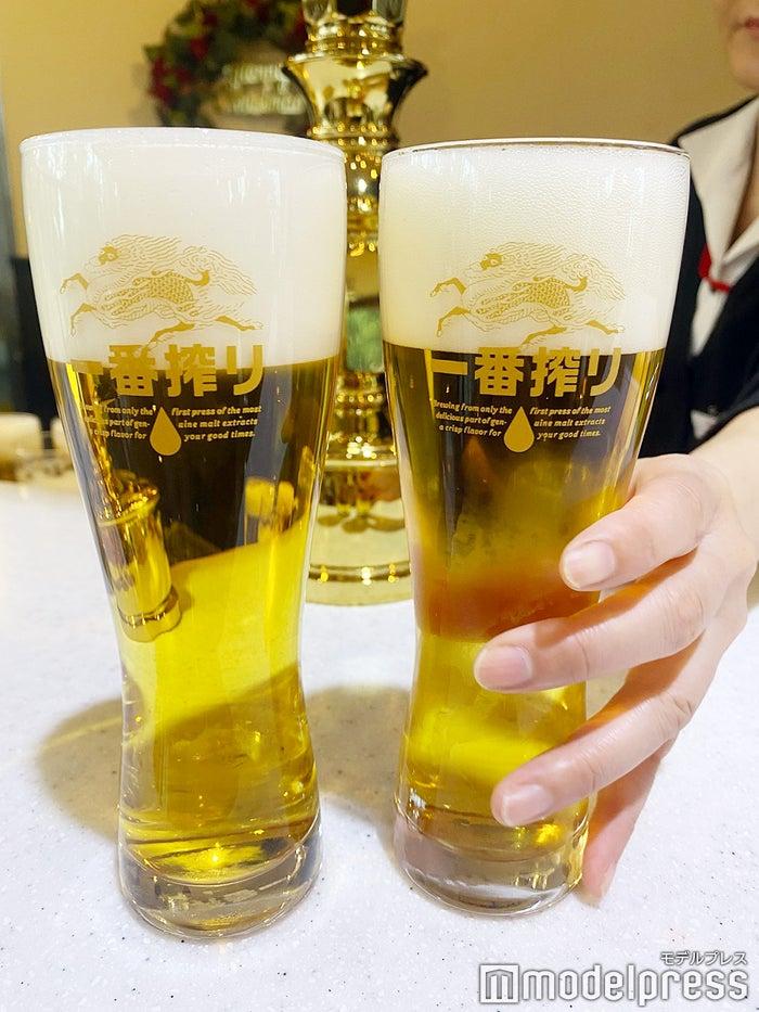 工場直送の「キリン一番搾り生ビール」(C)モデルプレス