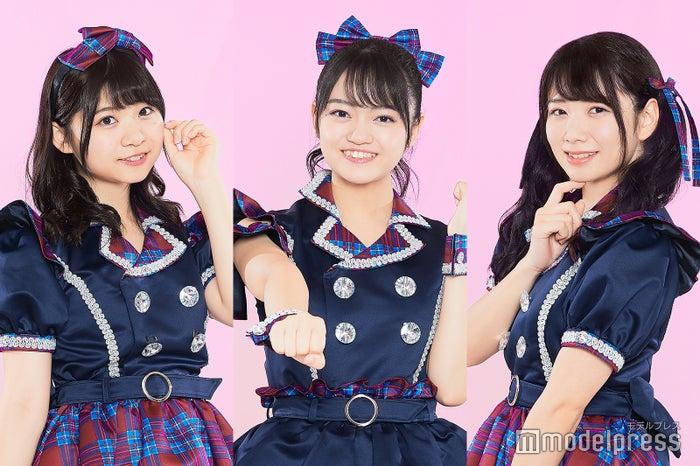 (左から)橋村理子、吉川茉優、高萩千夏 (C)モデルプレス