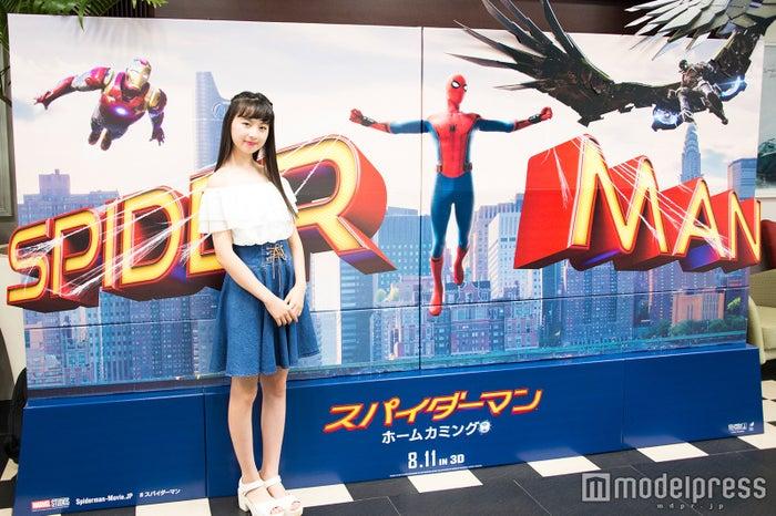 スパイダーマンを観て感じたことは?(C)モデルプレス