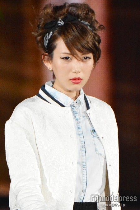 ファッション&音楽イベント「GirlsAward 2014 SPRING/SUMMER」に出演した光宗薫