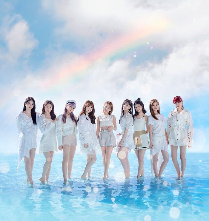 (左から)AYAKA、MAYA、MAYUKA、MIIHI、MAKO、RIO、RIMA、RIKU、NINA(提供写真)