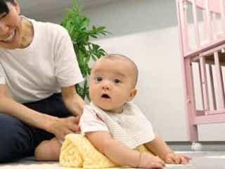 【助産師監修】これで夜グッスリ!?赤ちゃんと楽しく「うつぶせ遊び」