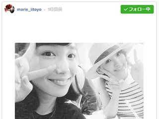 """飯豊まりえ、HKT48兒玉遥と""""自然体""""デート「ただのファンです」"""