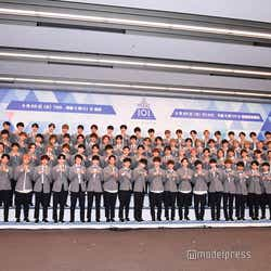 「PRODUCE 101 JAPAN」練習生 (C)モデルプレス
