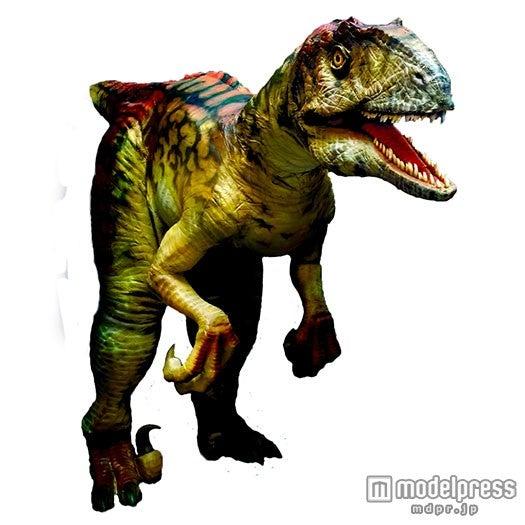 リアル恐竜体験ライブショー「DINO-A-LIVE  in DECKS」/画像提供:デックス東京ビーチ