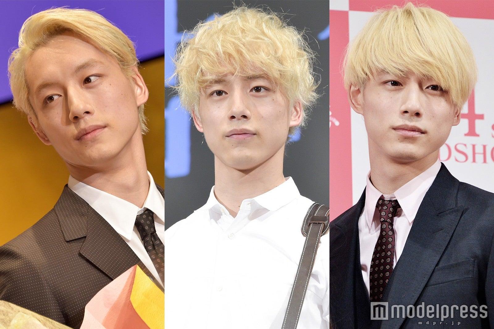 金髪の坂口健太郎、さまざまなヘアアレンジを披露(C)モデルプレス