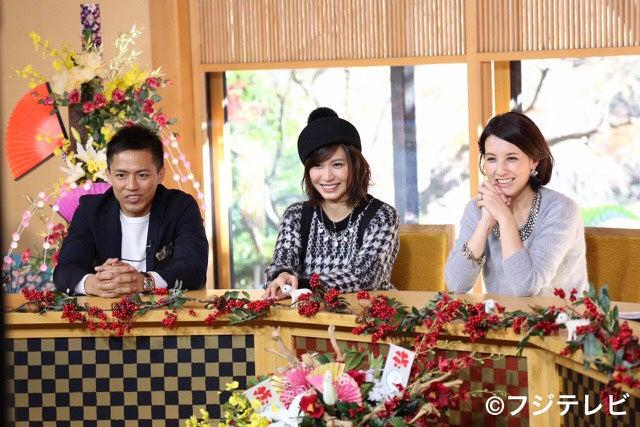 (左から)野村忠宏、大島麻衣、政井マヤ