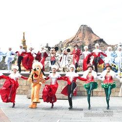 ビッグバンドビートを彷彿とさせるディズニー・クリスマスTDS新ハーバーレビューショー初お披露目<イッツ・クリスマスタイム!>
