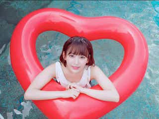 HKT48宮脇咲良、Instagramで水着ショット初公開しフォロワー1万人増える