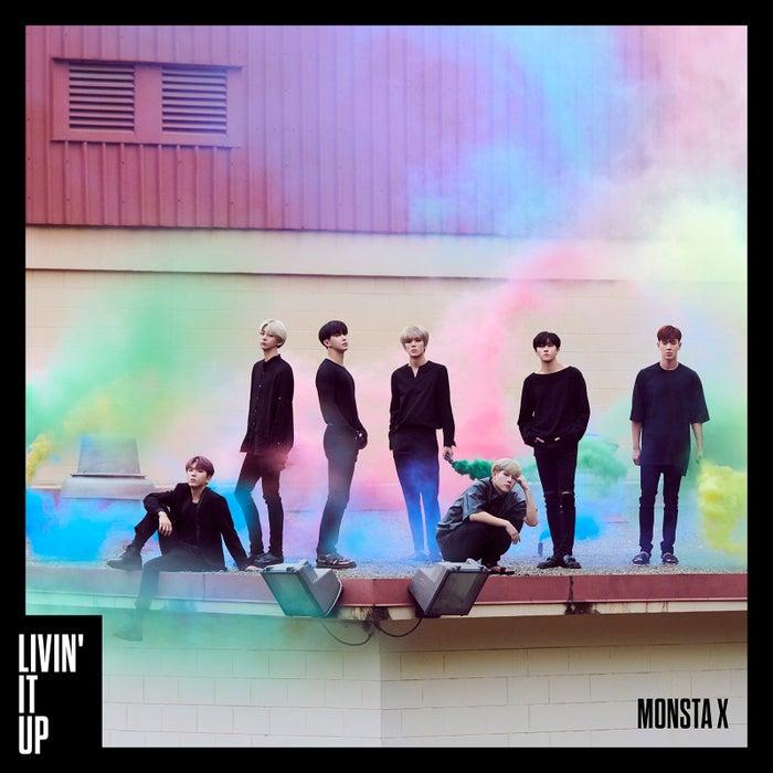 MONSTA X「LIVIN' IT UP」初回盤A (提供写真)