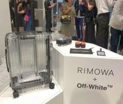 「リモワ」、「オフホワイト」と協業 透明なスーツケースに予約殺到