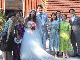 LiLiCo&純烈・小田井涼平、結婚式の様子公開 出水麻衣アナがサプライズ