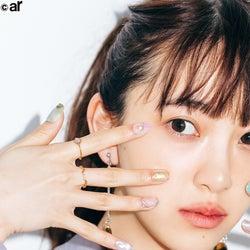 乃木坂46堀未央奈、自慢の美指で魅了 春ネイルも紹介