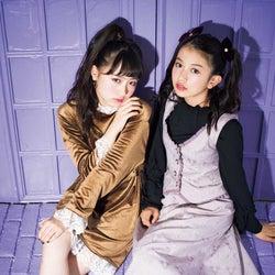 左から:其原有沙、黒川心/「LOVE berry VOL.10」より(画像提供:徳間書店)