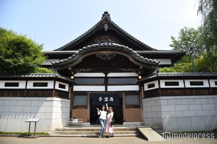 文化的価値の高い建造物に感動 江戸東京たてもの園/子宝湯(C)モデルプレス