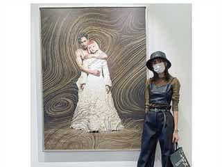 桐谷美玲、産後と思えぬ圧倒的美スタイル話題 清川あさみ「CGみたい」