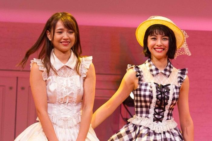 (左から)志村理佳、田中美麗(画像提供:所属事務所)