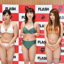 長谷川沙耶、岩間朔弥、キユナマイカ (C)モデルプレス