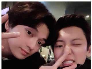 新田真剣佑&EXOチャンヨル、2ショット実現にファン歓喜