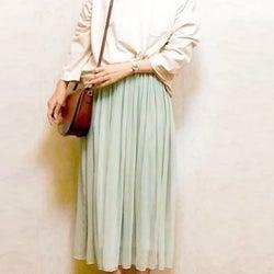 【しまむら】万能すぎて週3着たい!春まで使えるフェミニンスカートは美人見えが最強レベル